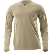 DRIFIRE® Lightweight Long Sleeve FR T-Shirt, XL, Desert Sand, DF2-CM-446LS-DS-XL