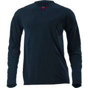 DRIFIRE® Lightweight Long Sleeve FR T-Shirt, 2XL-T, Navy Blue, DF2-CM-446LS-NB-2XLT