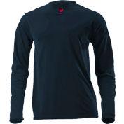 DRIFIRE® Lightweight Long Sleeve FR T-Shirt, L, Navy Blue, DF2-CM-446LS-NB-LG