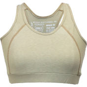National Safety Apparel® FR Control 2.0 Women's Sports Bra, L, Tan, FRBRAJKLG