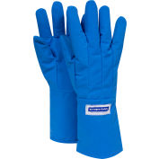 National Safety Apparel® Water Resistant Mid-Arm Cryogenic Glove, Small, Blue, G99CRBERSMMA