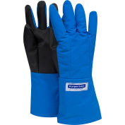 National Safety Apparel® SaferGrip Mid-Arm Length Cryogenic Glove, Large, Blue, G99CRSGPLGMA