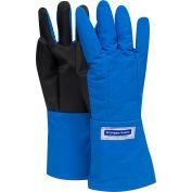 National Safety Apparel® SaferGrip Mid-Arm Length Cryogenic Glove, Medium, Blue, G99CRSGPMDMA