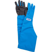 National Safety Apparel® SaferGrip Shoulder Length Cryogenic Glove, Medium, Blue, G99CRSGPMDSH