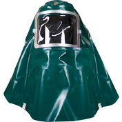 National Safety Apparel® Deluxe PVC Chemical Splash Protection Hood, H57GV001