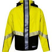 HYDROlite™ Flame Resistant Hi-Vis Bomber Jacket, ANSI Class 3, Type R, Yellow/Black, L