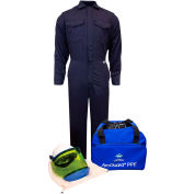 ArcGuard® KIT2CV11NG2X 12 cal/cm2 UltraSoft Arc Flash Kit with FR Coverall, 2XL, No Gloves