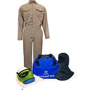 ArcGuard® KIT2CVPR08NGB3X 8 cal DuPont Protera Arc Flash Kit FR Coverall & Balaclava, 3XL