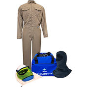 ArcGuard® KIT2CVPR08NGBM 8 cal DuPont Protera Arc Flash Kit FR Coverall & Balaclava, M