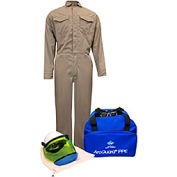 ArcGuard® KIT2CVPR08NG 8 cal/cm2 DuPont Protera Arc Flash Kit W/FR Coverall, MD, No Gloves