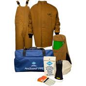 ArcGuard® KIT4SC100 LG08 100 cal/cm2 Arc Flash Kit, LG, Glove Size 08