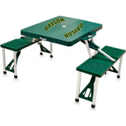 Picnic Table - Green (Baylor University Bears) Digital Print - Logo