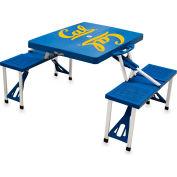 Picnic Table - Blue (UC Berkeley Golden Bears) Digital Print - Logo