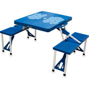 Picnic Table - Blue (University Of North Carolina Tar Heels) Digital Print - Logo