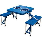 Picnic Table - Blue (Penn State Nittany Lions) Digital Print - Logo