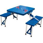 Picnic Table - Blue (Louisiana Tech Bulldogs) Digital Print - Logo