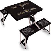Picnic Table - Black (University Of Central Florida Knights) Digital Print - Logo
