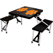 Picnic Table - Black (Clemson U Tigers) Digital Print - Logo
