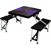 Picnic Table - Black (Kansas State Wildcats) Digital Print - Logo