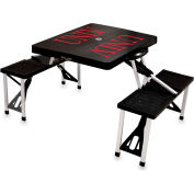 Picnic Table - Black (U Of Nevada LV Rebels) Digital Print - Logo