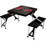 Picnic Table - Black (Miami U Red Hawks) Digital Print - Logo