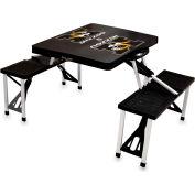 Picnic Table - Black (U Of Missouri Tigers) Digital Print - Logo