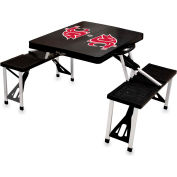 Picnic Table - Black (Washington State Cougars) Digital Print - Logo