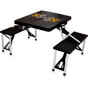 Picnic Table - Black (Colorado College Tigers) Digital Print - Logo