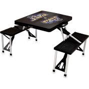 Picnic Table - Black (James Madison U Dukes) Digital Print - Logo