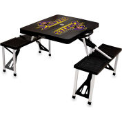 Picnic Table - Black (East Carolina Pirates) Digital Print - Logo