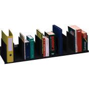"Paperflow Individualized Vertical Organizer Black, 44""W x 10-5/6""D x 8-1/4""H"