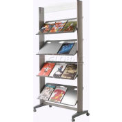 Paperflow Single Sided XL Literature Display Metal Shelves