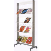 Paperflow Single Sided XL Literature Display Acrylic Shelves
