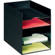 Paperflow Horizontal Organizer Black