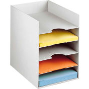 Paperflow Horizontal Organizer Gray