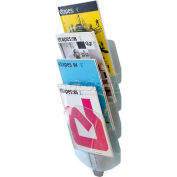 Paperflow Letter Size 4-Compartment Vertebro Literature Display