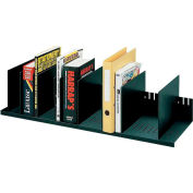 "Paperflow Individualized Vertical Organizer Black, 31-4/7""W x 10-5/6""D x 8-1/4""H"