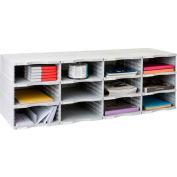 Archivo 2000 ArchivoDoc Quadro Jumbo Literature & Forms Sorting Station With Twelve Compartments