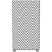 Paperflow EasyScreen Room Divider, Black Zigzag