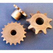 Plastock® #25 Roller Chain Sprockets 25b17, Nylatron, 1/4 Pitch, 17 Tooth Roller