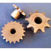Plastock® #35 Roller Chain Sprockets 35b10, Nylatron, 3/8 Pitch, 10 Tooth Roller
