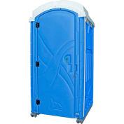 "PolyPortables Axxis Portable Restroom, Blue 47""L x 43""W x 92""H - PPAX-03"