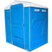 """PolyPortables Senator ADA Portable Restroom, Blue 64""""L x 77""""W x 92""""H - PPSENT-03"""