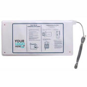 "Proactive Medical Classic Chair Sensor Pad, 7"" x 15"" - 6 Month Warranty - 10111"