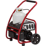 Powermate PM0133250 Portable Propane Generator, 120V, 4050W, Recoil Start
