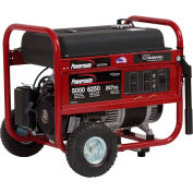 Powermate PM0435005 Portable Generator W/Subaru Engine, 6250W, Recoil Start