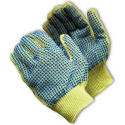 PIP Kut-Gard® Kevlar® Gloves, 100% Kevlar®, Light Weight, PVC Dots Two Sides, L