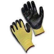 PIP G-Tek® CR Gloves, Kevlar® W/Nitrile Coated Palm & Fingers, XS