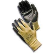PIP Kevlar® & Lycra® Blend W/Nitrile Coated Palm & Fingers, Medium Weight, L