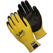 PIP Kevlar® Gloves W/Micro surface Nitrile Coated Palm & Fingers, Medium Weight, S